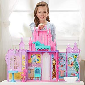 低至$5.15 封面款史低价$20.61史低价:Disney Princess 梦幻娃娃屋、魔法项链等玩具特卖
