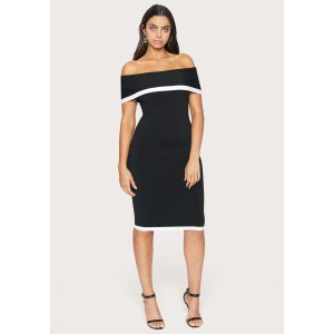BebeOff Shoulder Sweater Dress