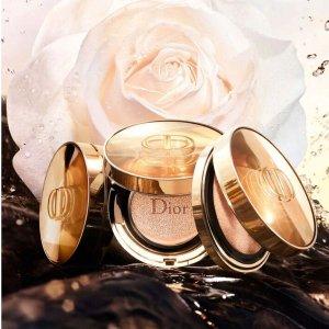 $158 色号全Dior 花蜜活颜丝悦 玫瑰花蜜气垫粉底