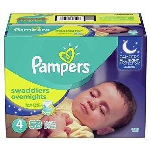 Pampers Swaddlers 纸尿裤58片