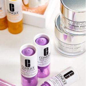 低至8折 + 送多重好礼倩碧护肤彩妆套装热卖 收VC和水磁场