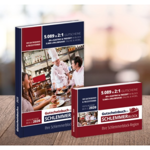 Gutscheinbuch.de 2020年最新美食优惠券限时4.9折收 海量合作餐厅可享第二份免单或大额优惠
