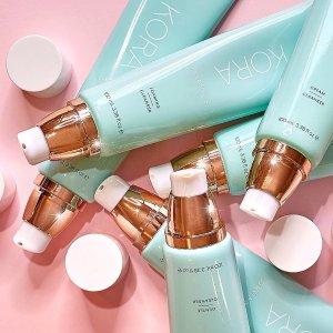低至$1 + 无门槛立减$10补货:KORA Organics 精选护肤大促 收超模米兰达可儿同款洁面