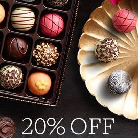 Last Day: 20% offOctober Sale Select Products @ Godiva