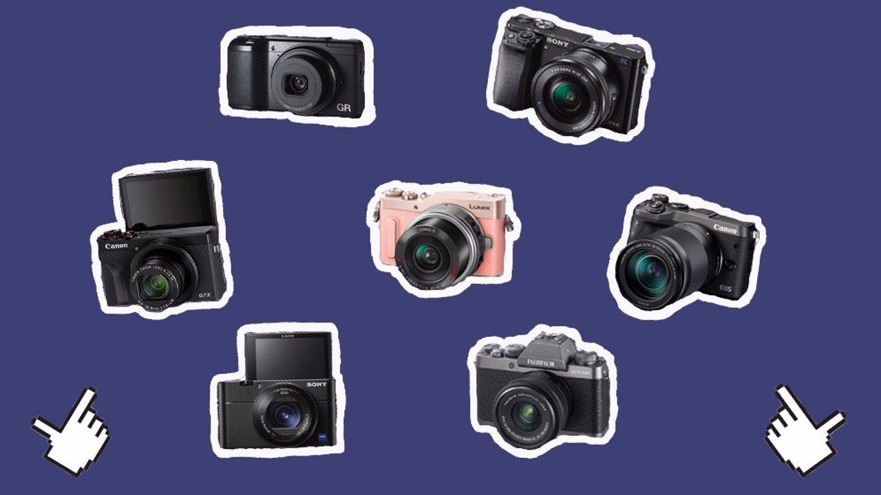 女生入门相机推荐| 7款高颜值相机,美貌与实力并存,买它!
