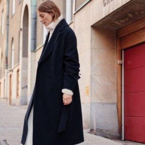 首单9折 £85收最新泰迪夹克& Other Stories 新款大衣羽绒服上架 法式优雅温暖必备