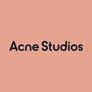 低至4折 $140收斜挎包Acne Studios 夏季大促降价 $280收渐变卫衣