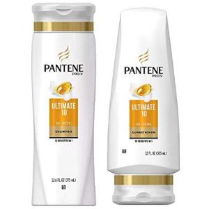 $7.53(原价$16.67)PANTENE Pro-V Ultimate 10 潘婷洗发水 + 护发素套组