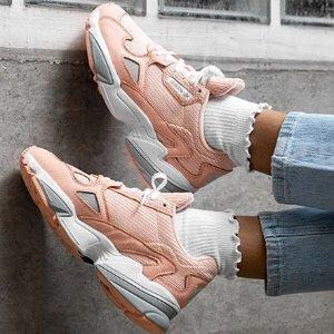 AdidasFalcon 蜜桃系列新款女鞋多色选