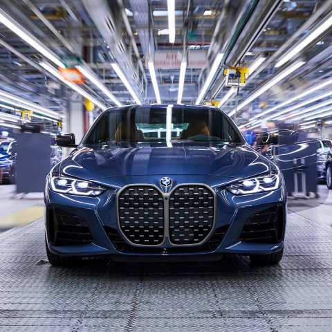 全新BMW 4系已在德国工厂开产