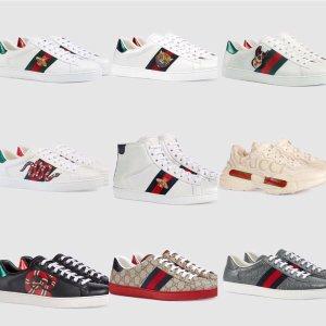 5折起 GG小脏鞋£175 Gucci£219上新:Selfridges 大童鞋来袭 39码在线 Gucci、GG小脏鞋、UGG速收