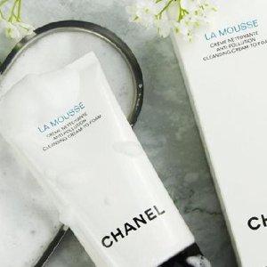 售价$60补货:Chanel 山茶花泡沫洁面 绵密泡沫温和洁净 舒缓肌肤
