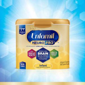 送随身装14袋(价值$14.98)美赞臣最新NeuroPro 婴儿奶粉套装大促