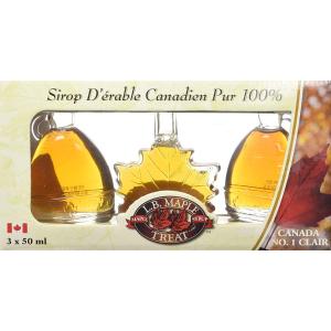 $14.95(原价$20.24)L B Maple Treat 枫糖浆礼盒装特卖,回国送人必备