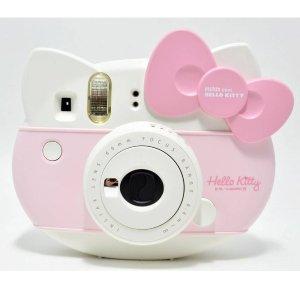 直邮美国到手价 $79.9富士 拍立得 mini Hello Kitty 纪念款相机 限量版