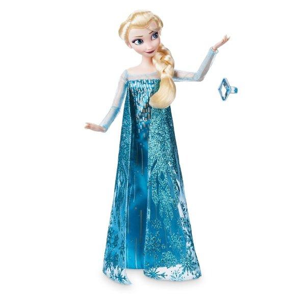 Elsa 经典玩偶,附送戒指