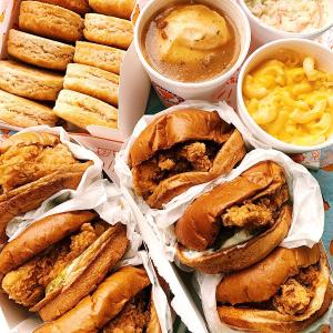满额送炸鸡汉堡套餐+免运费Popeyes X DoorDash 买送优惠活动