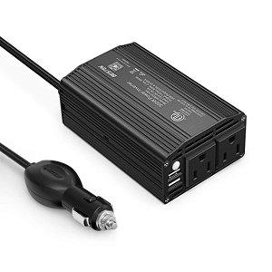 $17.99BESTEK 300W 电源逆变器 2个USB接口+2个标准插座