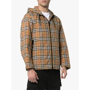 Burberry格纹夹克