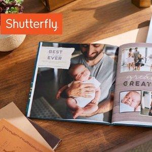 低至5折Shutterfly 精装硬皮相册和个人定制礼品等热卖