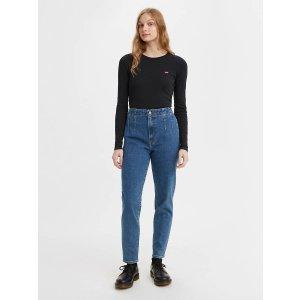 Levi's高腰牛仔裤