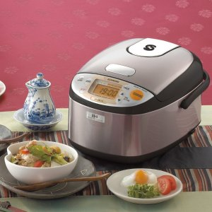 $216.99Zojirushi NP-GBC05XT Induction Heating System Rice Cooker and Warmer, 0.54 L, Stainless Dark Brown
