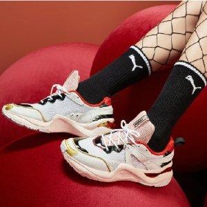 Puma蔡依林同款x CHARLOTTE OLYMPIA Rise联名运动鞋