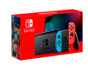 Nintendo - Switch 32GB Console - Neon Red/Neon Blue Joy-Con