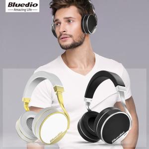 限时特价$86.99限今天:Bluedio Vinyl Plus 无线蓝牙耳机 HIFI耳麦大动圈 两色选