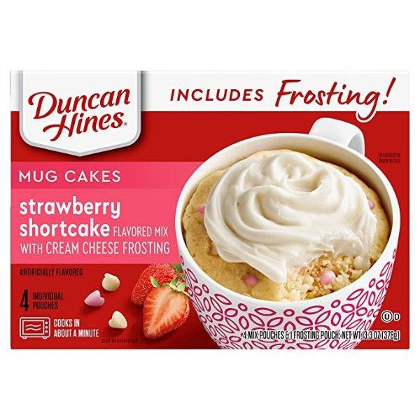 Duncan Hines草莓蛋糕粉带奶油芝士奶霜 13.3oz