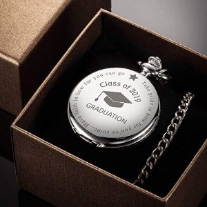 $15.19Hicarer Pocket Watch Class of 2019 Graduation Gift