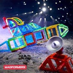 低至6折最后一天:Magformers 磁力贴片、拼插片等玩具特卖 手脑并用玩创新