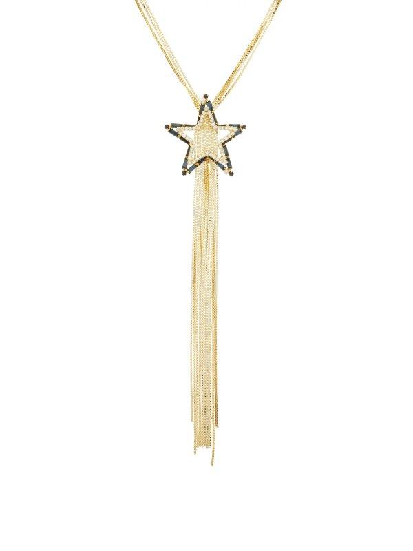 Scintilla水钻星星项链