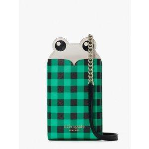 Kate Spade小青蛙手机包