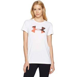 $11.51起Under Armour  女士LOGO款短袖运动T恤