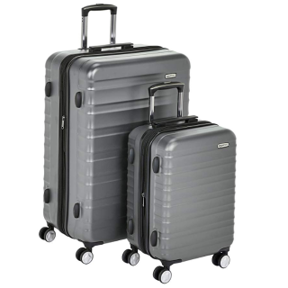 6.4折起 $89.99收2件套限今天:精选 AmazonBasics 自主品牌行李箱促销