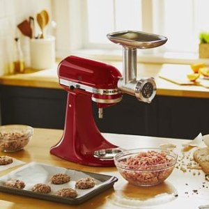 Up to 20% OffKitchenAid Select Countertop Appliances and Stand Mixer Attachments Sale