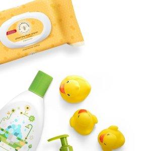 包邮+免费赠送宝宝礼物套装Grove Collaborative 儿童用品订购服务新用户福利