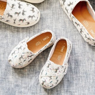 低至$19.99TOMS 童鞋4.8折起惊喜特卖,可凑母女鞋