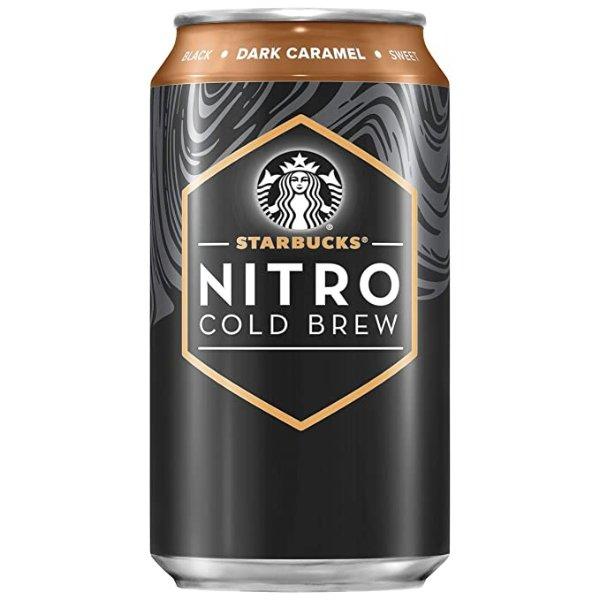 氮气冷萃焦糖咖啡 8罐装