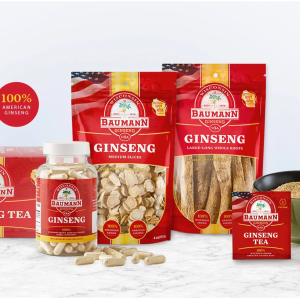 as low as 30% offDealmoon Exclusive: Baumann Ginseng Mother's Day Promotion