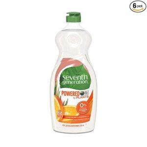 $14.49Seventh Generation 天然植物萃取洗碗液 25oz 6瓶