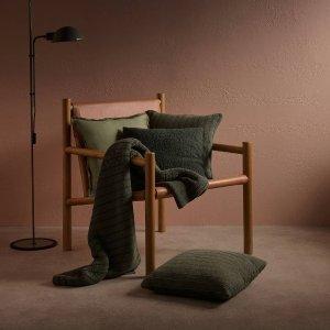 低至4折 多色、多材质可选Sheridan 抱枕、盖毯精致生活必入好物清仓 人造皮草款$35