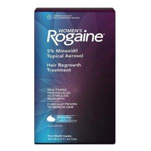 $42.93(原价$33.74)Rogaine 生发泡沫 4个月用量 皮肤科医生推荐
