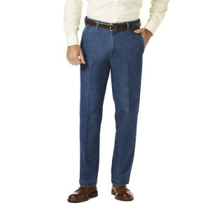 HaggarStretch Denim Trouser