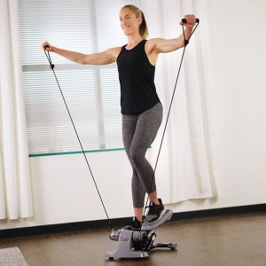 低至6折 踏步机$62补货速抢新年礼物:Sunny Health & Fitness 健身器材热卖 $106收深蹲辅助器