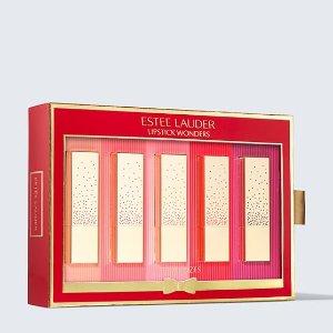 单支仅$20 均为正装Estee Lauder 2020限定倾慕口红5件套 内含#320、#420等