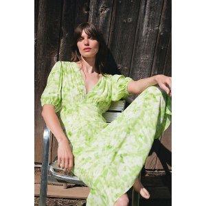 AnthropologieFaithfull Lera Tie-Dyed Midi Dress
