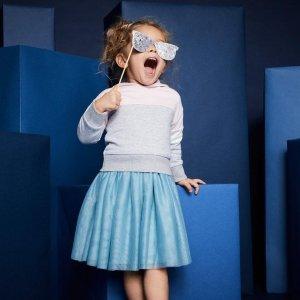 全场额外5折+免邮Crazy8 儿童服饰海量上新 价格超好的节日新装买不停