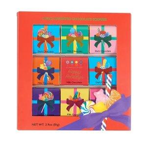 Dylan's Candy Bar圣诞节9官格巧克力节日礼盒